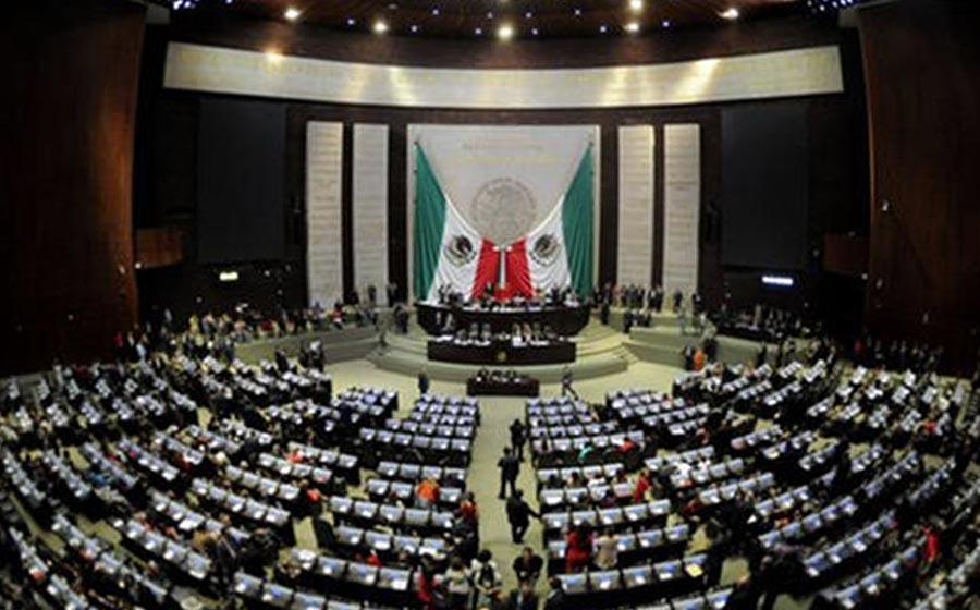 Toman protesta los nuevos diputados federales en México