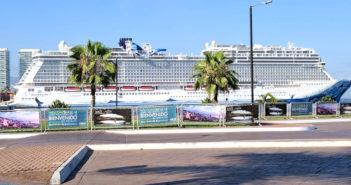 Siguen llegando turistas en crucero a Puerto Vallarta