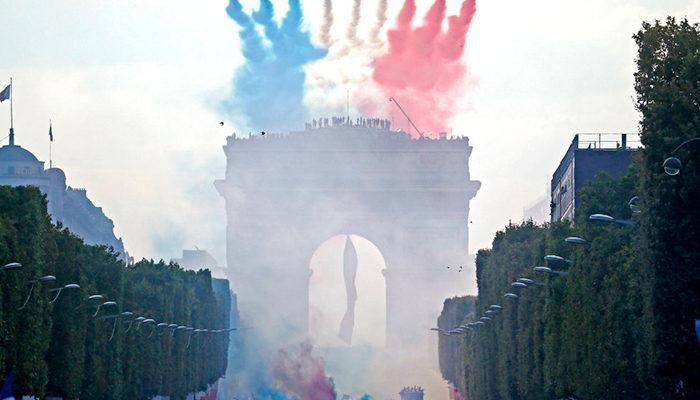 Celebración por mundial 2018 se sale de control en Francia