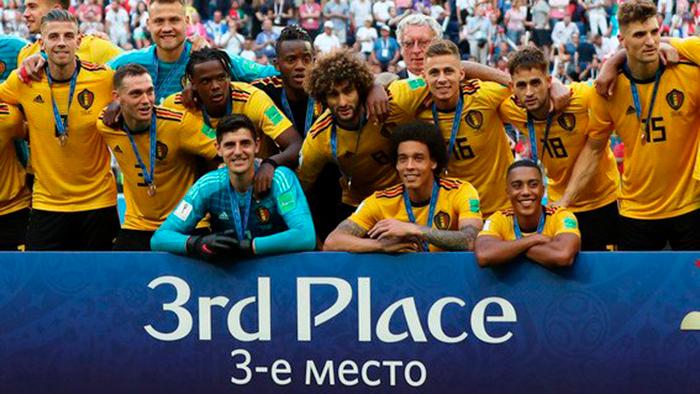 Bélgica resulta triunfador y se lleva el bronce del Mundial 2018