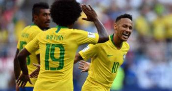 México se queda sin el anhelado quinto partido; Brasil lo vence con marcados 2-0