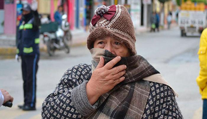 frente frío número 11 llega a la república mexicana