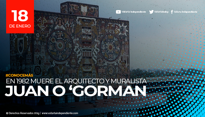 Juan O Gorman Muralista Mexicano Y Aportador Artistico