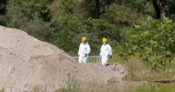 Han encontrado 123 cuerpos en 27 fosas solo en 2019