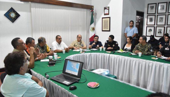 """Alerta permanente por proximidad de Tormenta Tropical """"Lorena""""-Comunicado"""