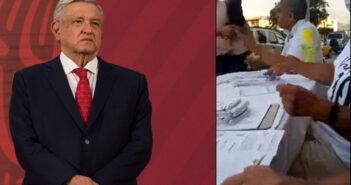 'Que se castigue a todos los que dan tarjetas para comprar votos', dice AMLO