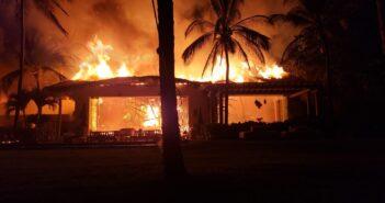 No fue el Four Seasons el quemado, reporta PC de Bahía