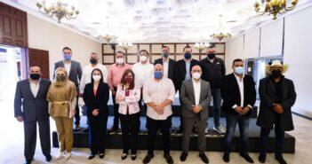 Alcaldes electos de Morena se reúnen con Alfaro