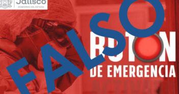 Circula falsa imagen sobre un nuevo 'botón de emergencias'