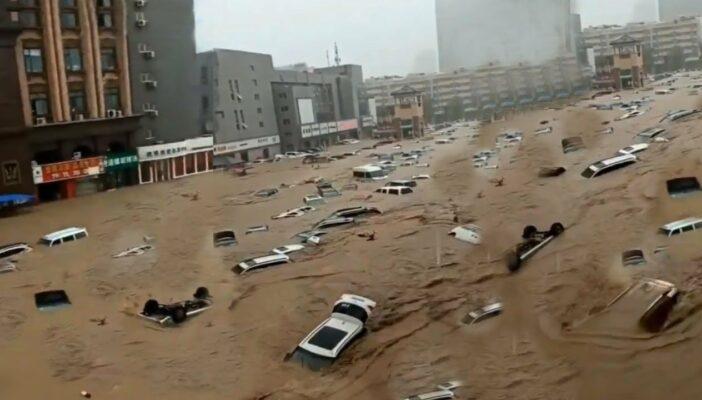 Torrenciales lluvias en China han dejado 25 fallecidos