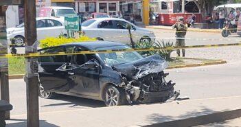 Ejecutan a un joven en su vehículo, luego de una persecución