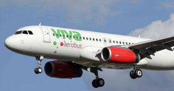 Reportan supuesta amenaza de bomba en avión de Viva Aerobus
