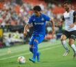 Debut amargo de JJ Macías con el Getafe; caen 1-0 contra el Valencia