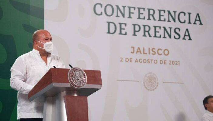 Gobierno Federal reconoce baja en incidencia delictiva en Jalisco