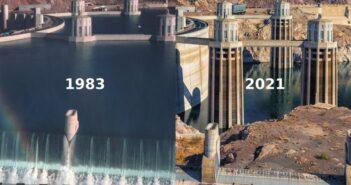 Histórica sequía en el Río Colorado provoca temor por desabasto de agua