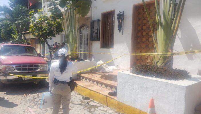 Pierde la vida un hombre en una banqueta en la Emiliano Zapata