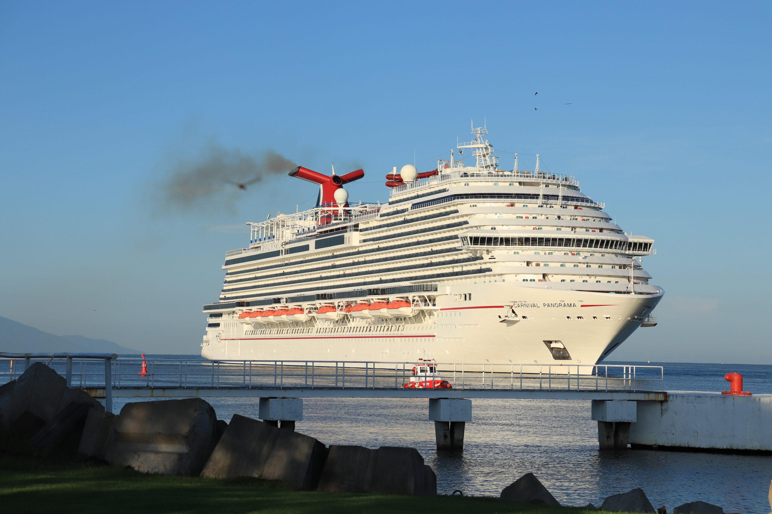 Llega por sexta ocasión el crucero Carnival Panorama