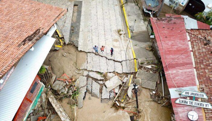 Inicia censo de daños en Jalisco por parte del Gobierno Federal