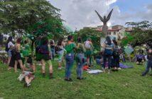 Marchan en Vallarta por el aborto legal y seguro