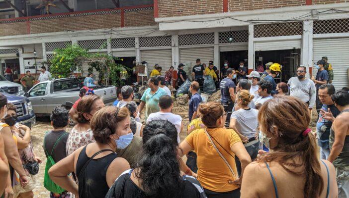 Apenas 2 millones de pesos para comerciantes del Mercado Río Cuale