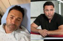 Óscar de la Hoya tiene covid y dice que 'no puede respirar bien'