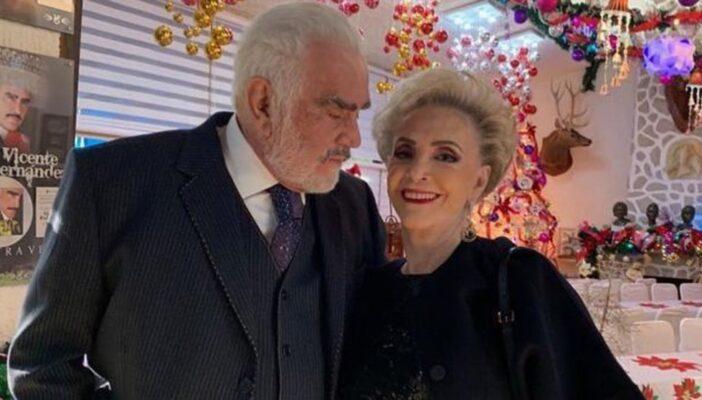 Hospitalizan de emergencia a doña Cuquita, esposa de Vicente Fernández