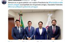 Tiene Morena nuevo delegado en Jalisco