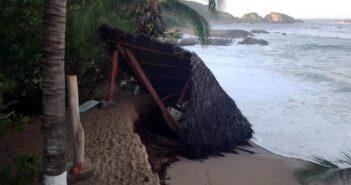 Campamento tortuguero de Mayto fue arrasado por 'Pamela'