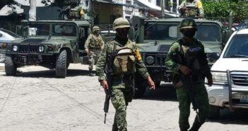 Por agredir a balazos a elementos militares, encarcelan a 3 de Tomatlán